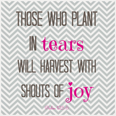 Plant Your Tears During Infertility