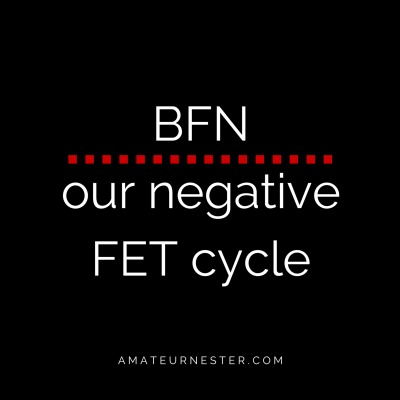 Big. Fat. Negative (FET Update)