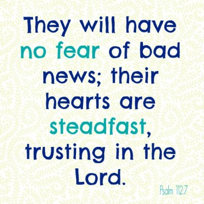 No Fear During Infertility