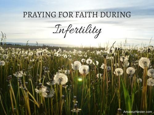 faith during infertility