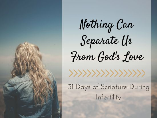 god's love during infertility