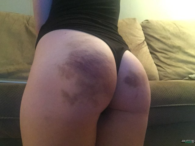 Selfie Of Spanked Blue Ass On Huge Tits Blonde Tumblr Amateur