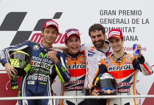 MotoGp 2014. Valencia, la gara