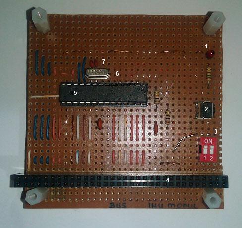 Resim-7. DIYSAT IHU prototipinin genel görünümü.