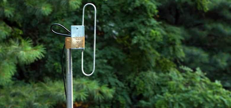 70cm Kapalı Dipol Anten