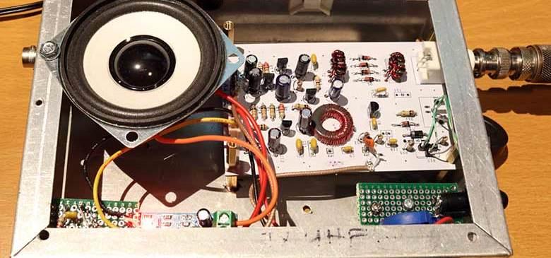 RX-2AH Kit 80m Test