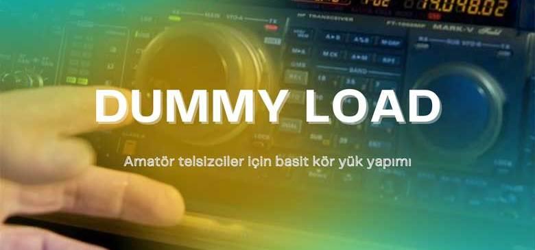 HF-VHF Yapay Yük (Dummy Load)