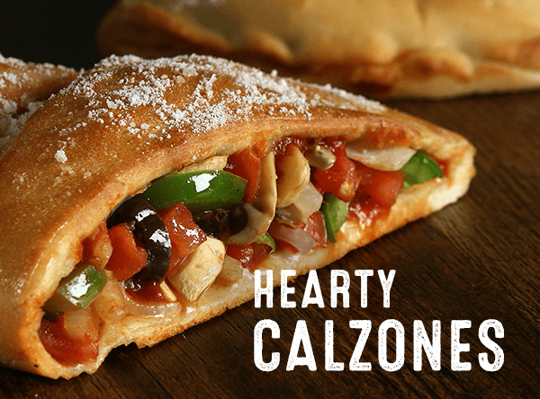 Hearty Calzones