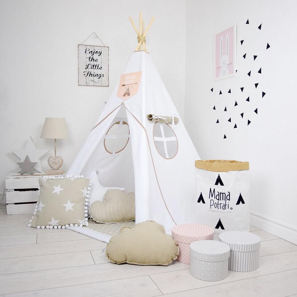 MSGFFK014 – Ice Beige Children's Teepee Tent