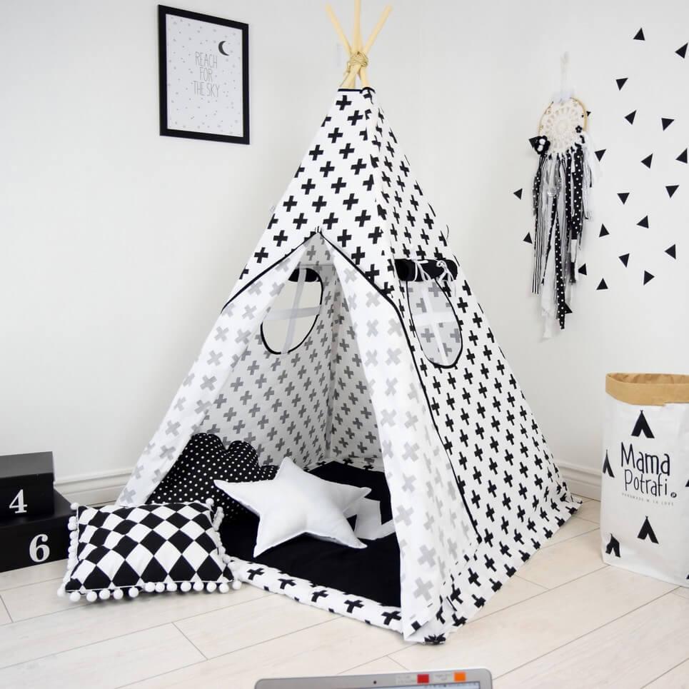 MSGFFK021 – Classic Crosses Children's Teepee Tent