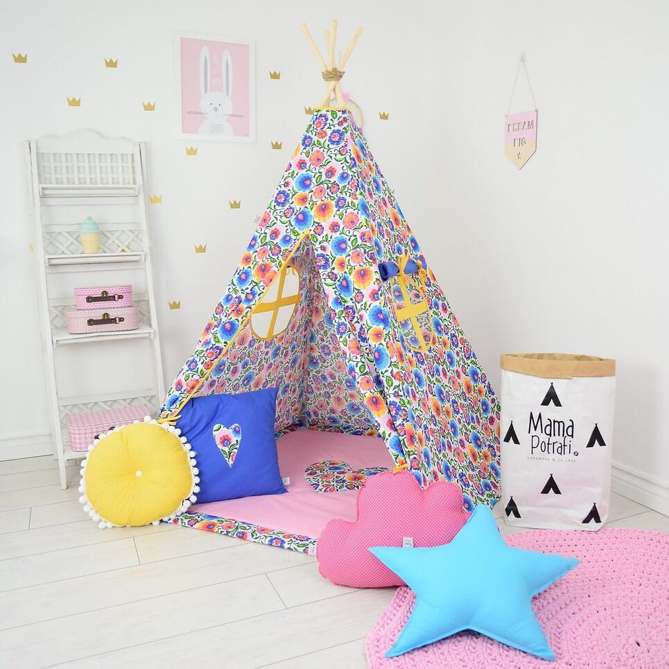 MSGFFK022 – Folk Love Children's Teepee Tent