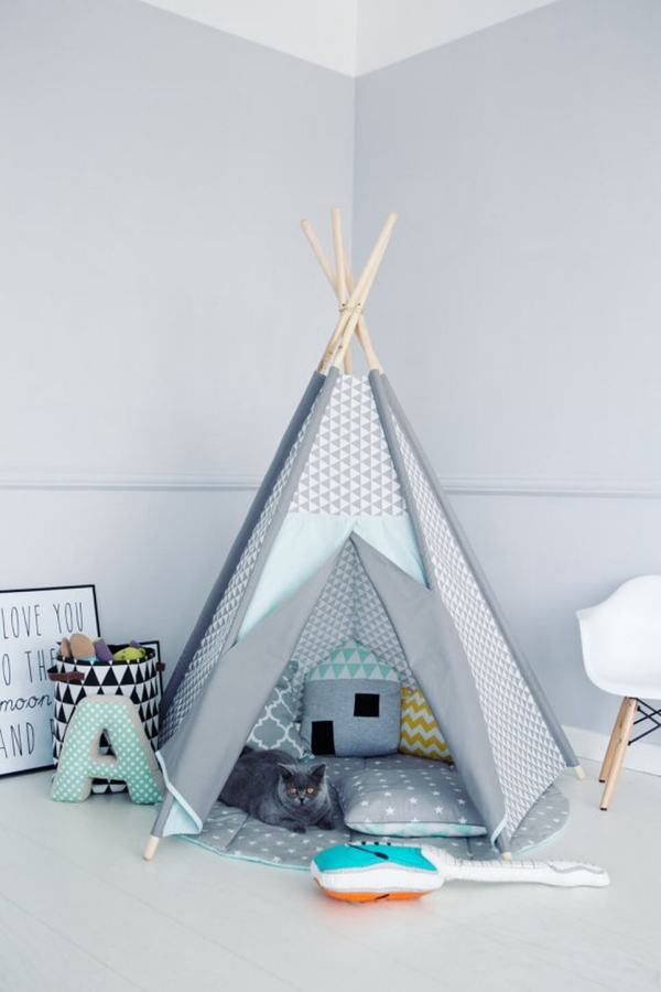 Frosty Children's Play Teepee