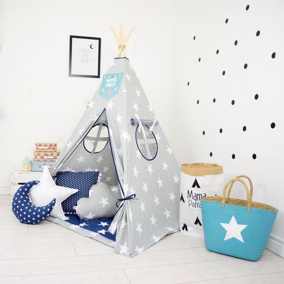 Navy Sailor Children's Teepee Tent