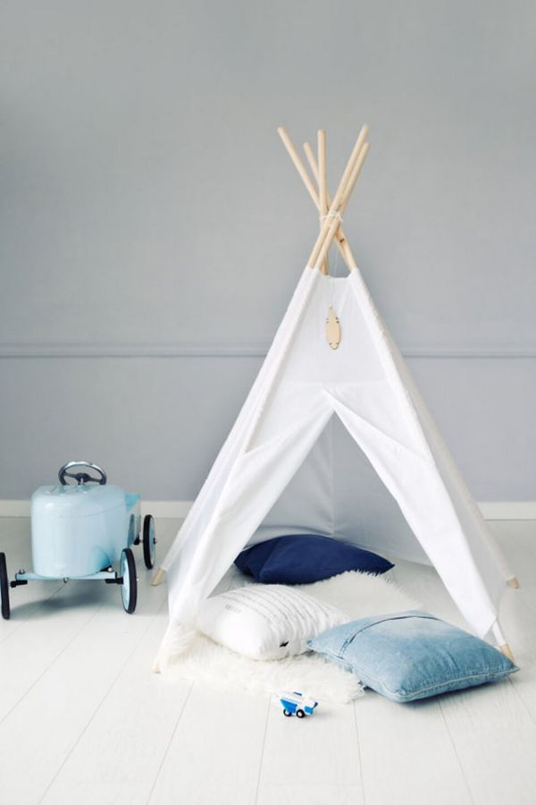 Pure White Children's Play Teepee