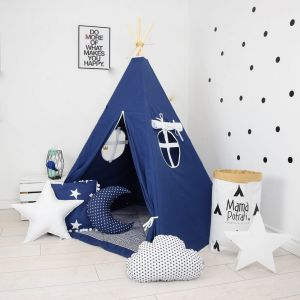 Add the perfect touch to your child's room with the Summer Night Dream Children's Teepee Tent. Let your little enjoy their own teepee for hours of play time and imagination.