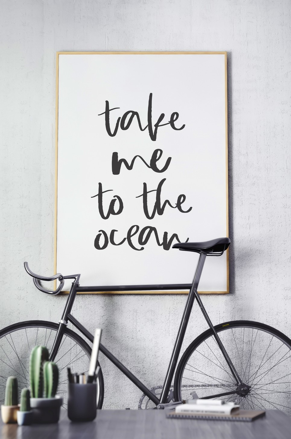 Home Wall Poster – Take me to the Ocean – 4