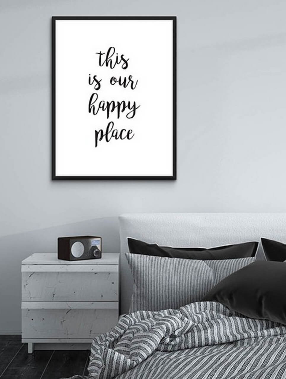 Home Wall Poster – This Is Our Happy Place