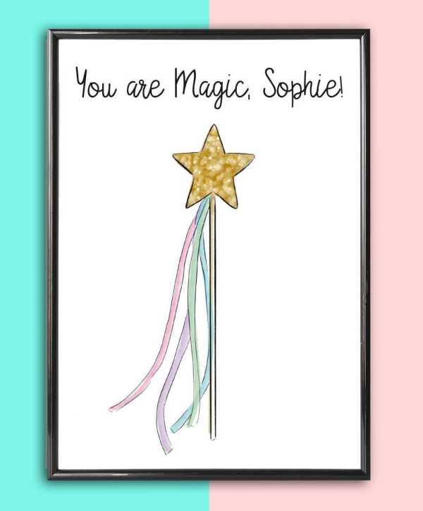 Personalised Name Print Magic Wand_2
