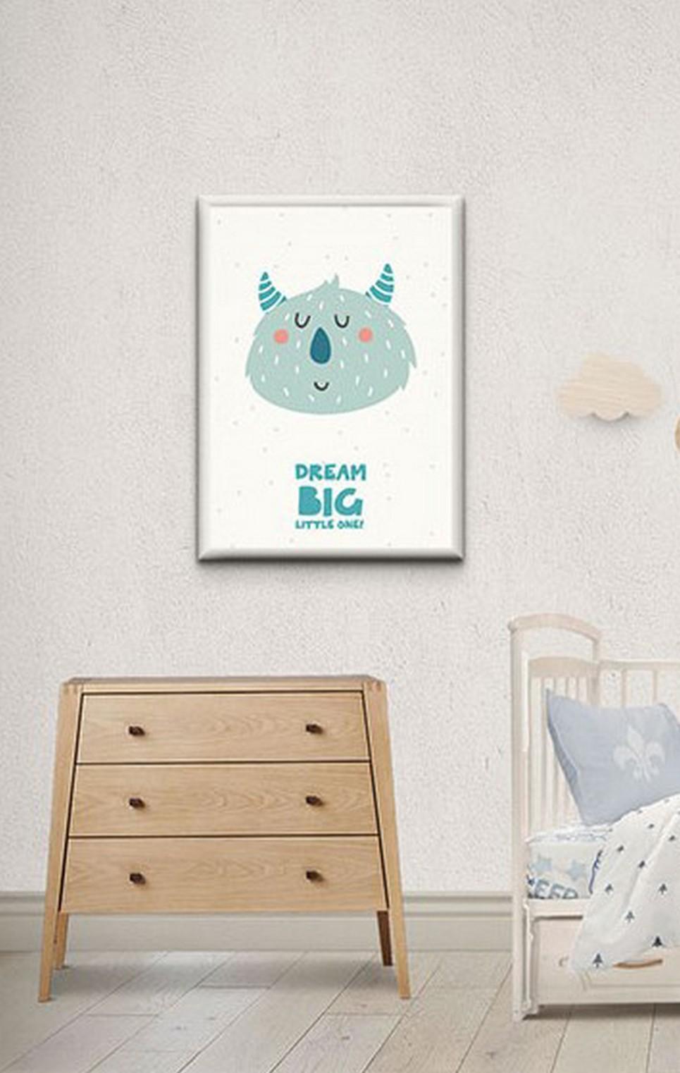 Children's Poster – Dream big little one – 4