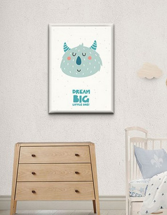 Perfect for any room in the home, the Children's Poster - Dream big little one is a great piece of daily inspiration for your walls.