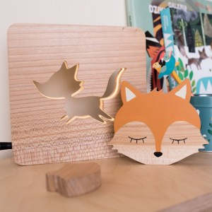 Shake up baby's playtime with the Fox Wood Toy, created especially for clutching hands and curious mind.