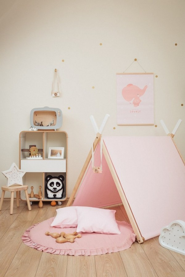 Pink Kids' Playhouse Set_4