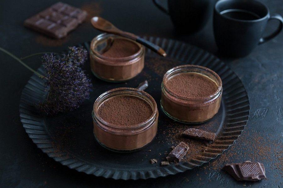 Dark Chocolate Mousse with Espresso