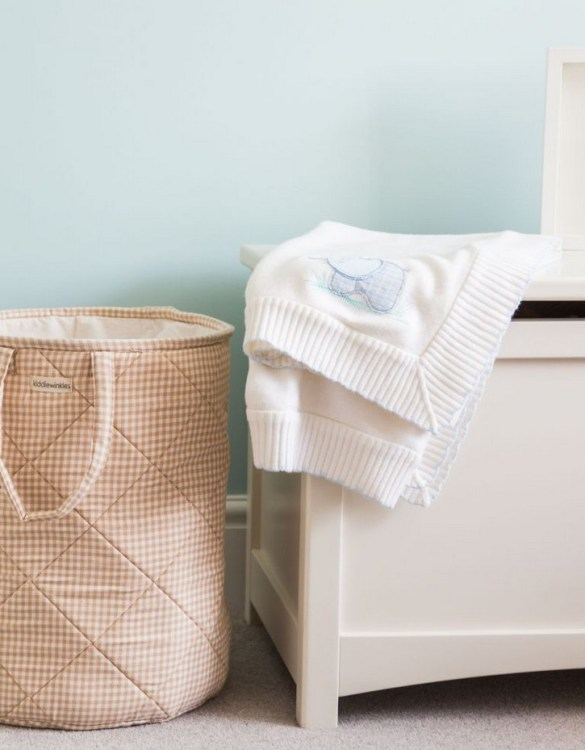 A great gift to keep teenage rooms a little tidier, the Neutral Gingham Laundry Basket is a stylish way to store your laundry or toys and bits from around the home.