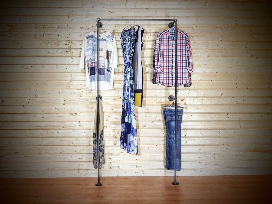 We take great care of our clothes and accessories and sometimes we even display them in ways meant to draw attention.