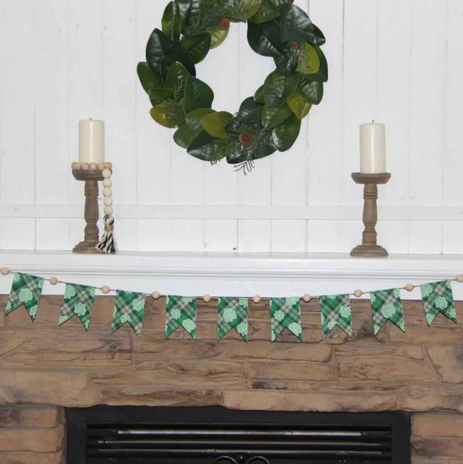 You may not see a lot of St. Patrick's Day decorations in your neighbors' homes but it's just such a fun holiday!