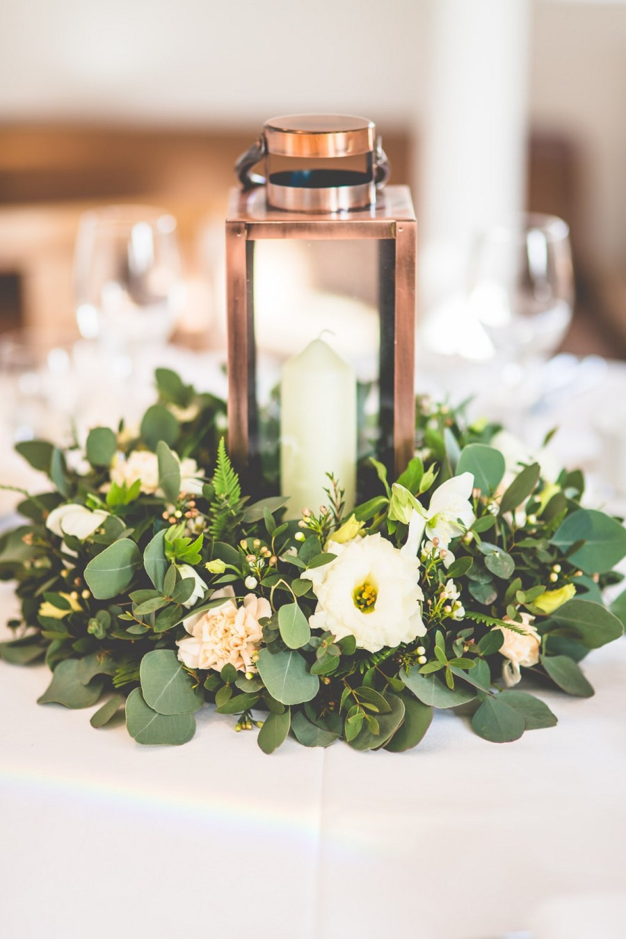 Not only do these floral wreaths make epic ceremony backdrops, they can be crafted into monograms and incorporated to get that organic-meets-boho wedding look.