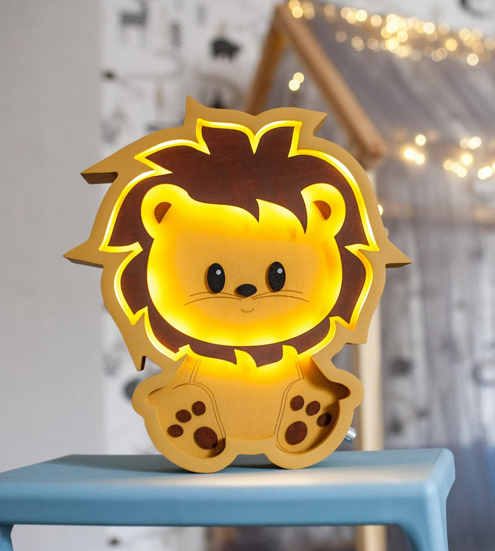 Lion Decorative Night Light – 8
