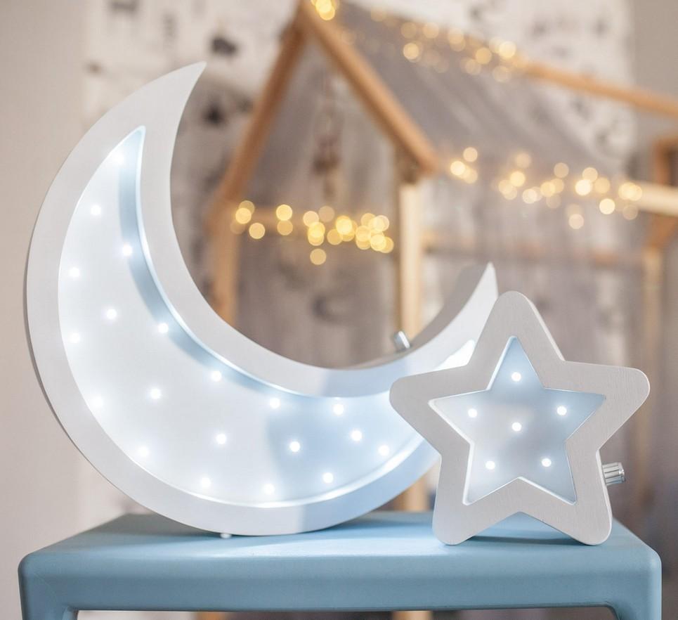 Moon and Star Decorative Night Lights – 5