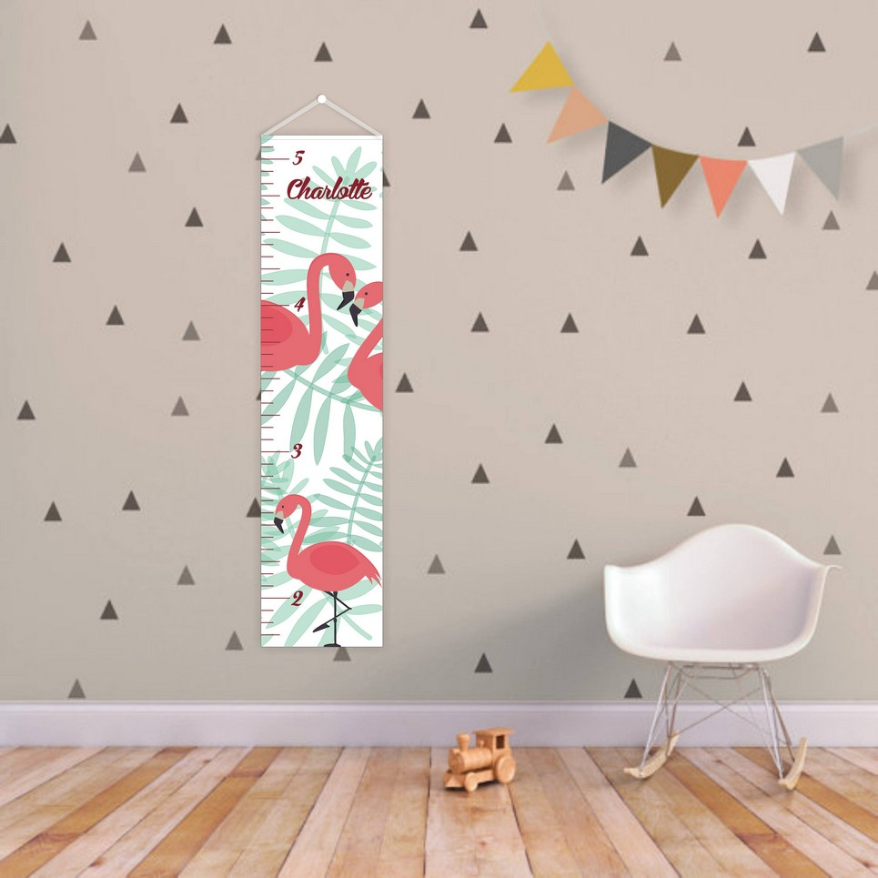 Tropical Personalised Baby Growth Chart – 1