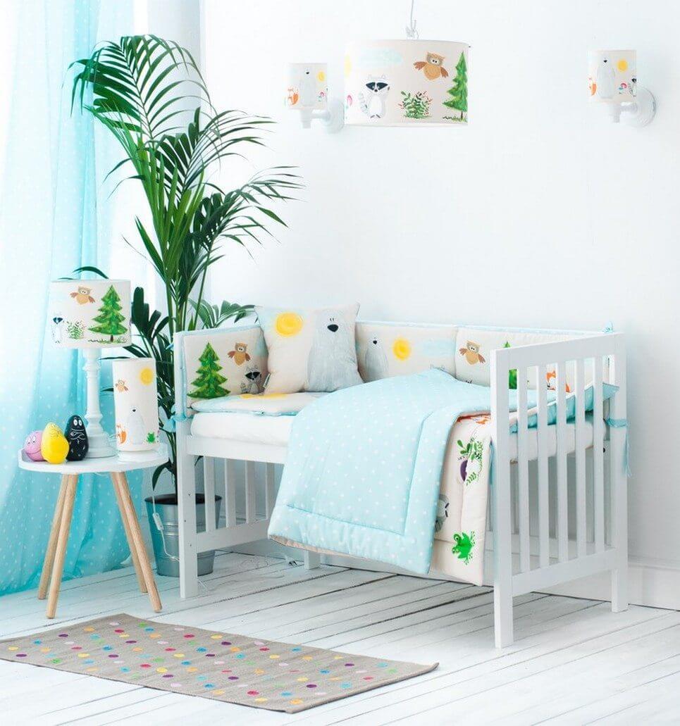 Forest Friends Crib Bumper – 2