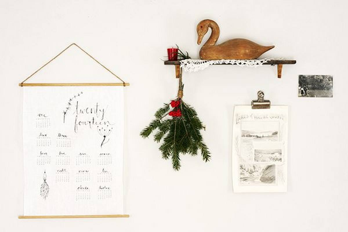 Whether you want to map out the entire year, take it a month or week at a time, or just need a daily reminder of the date, there are some fabulous and unique DIY planners and calendars out there.