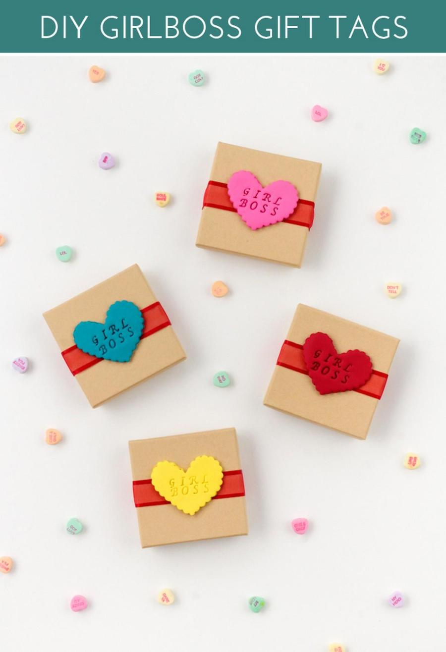 Valentine's Day is approaching, and it's high time to choose a gift, a wrap, a card and a tag – or make them all yourself!