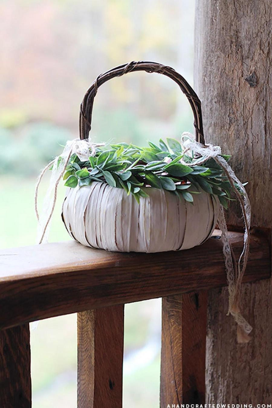 Flower girls add an adorable element to the wedding party, especially when they walk in front of the bride and scatter flower petals down the aisle. Keeping with tradition, decorated baskets make the perfect accessory for them to carry.