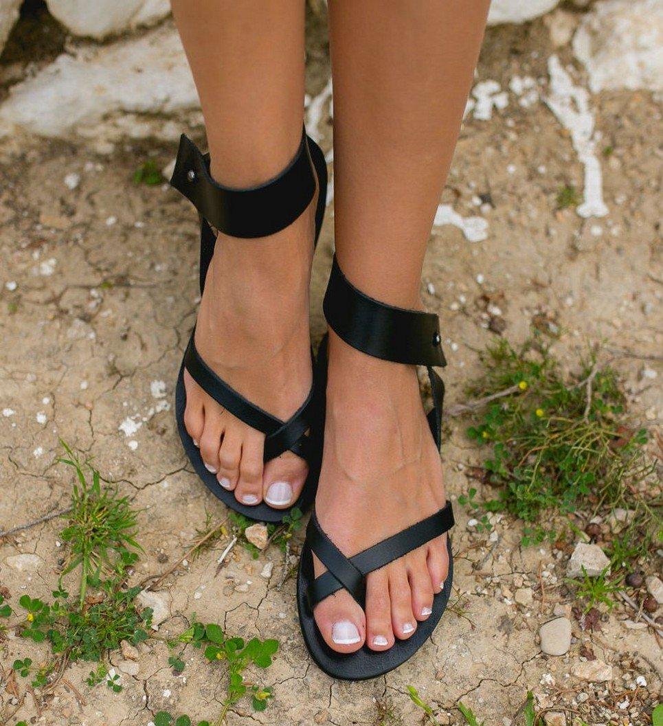 Penelope Greek Leather Sandal – 5