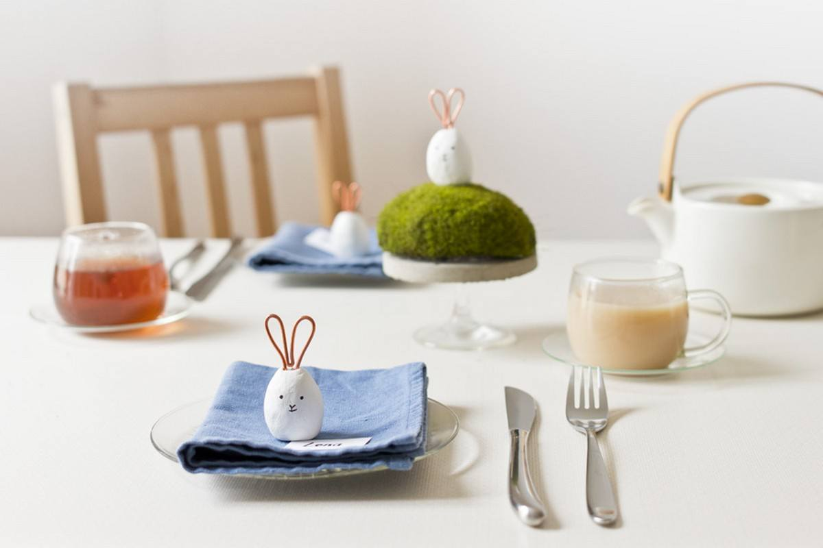 Candy-colored eggs, fresh tulips, and bunny miniatures — you'll find all of these traditional Easter elements in this series of homemade decorations, upgraded to springtime perfection.