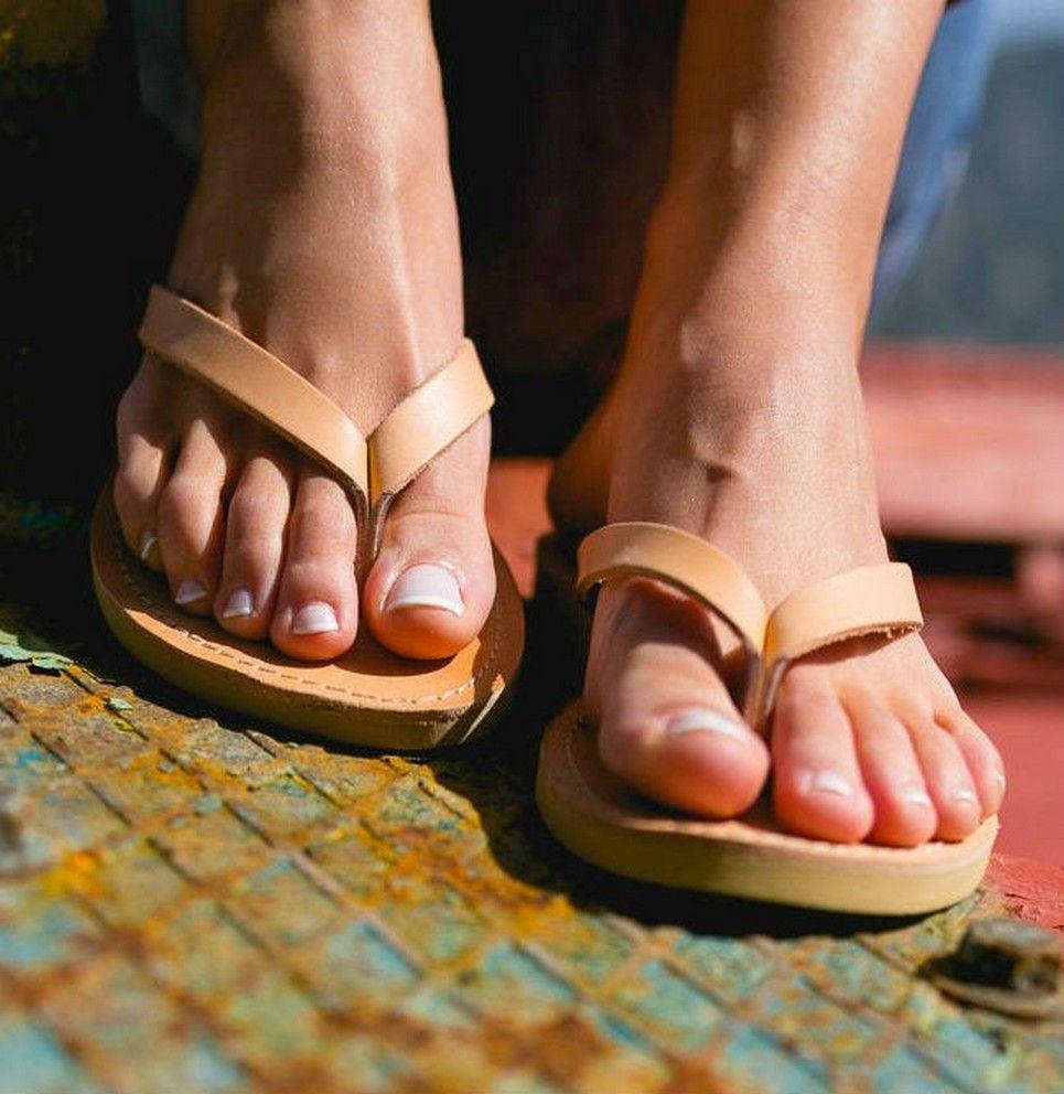 Lais Greek Leather Sandal – 3