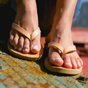 Just what every summer wardrobe needs, the Lais Greek Leather Sandal is every woman's dream pair, super comfy and elegant, and easily combined with any outfit.