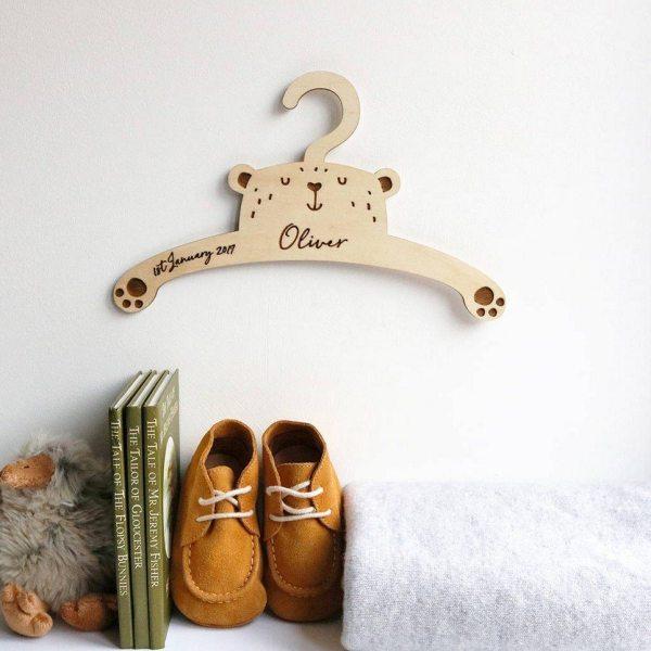 Little Bear Baby Coat Hanger