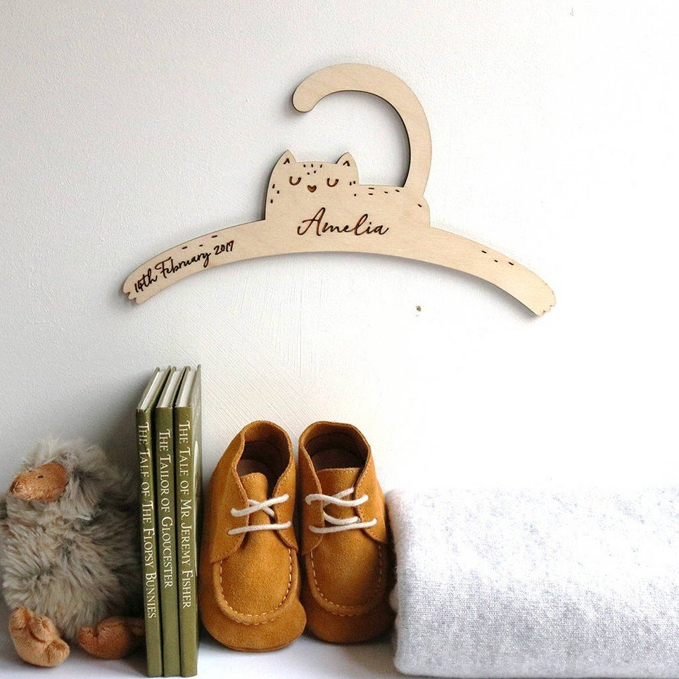 Little Cat Baby Coat Hanger