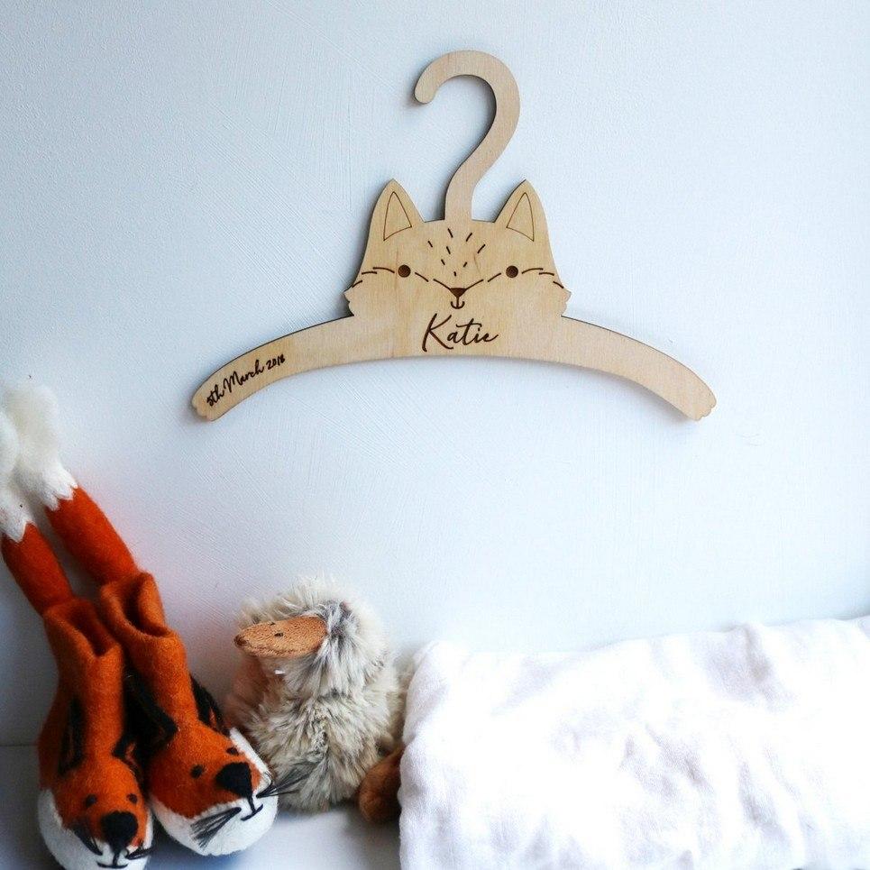 Little Fox Baby Coat Hanger