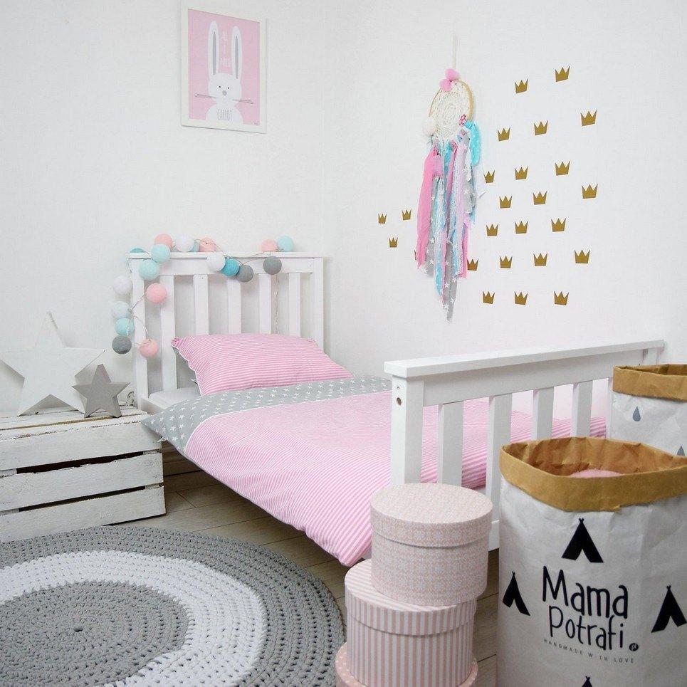 Pink Candy Baby Crib Bedding Set