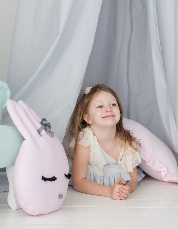 A unique way to show somebody just how much you care, the Pink Bunny Girl Pillow is a truly unique occasional gift for your favourite little person to treasure for the years to come.