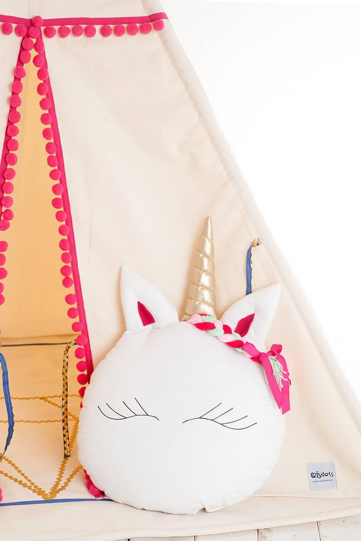 Sweet Unicorn Decorative Baby Cushion