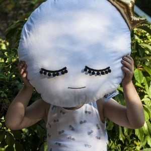 A unique way to show somebody just how much you care, the White Moon Baby Cushion is a truly unique occasional gift for your favourite little person to treasure for the years to come.