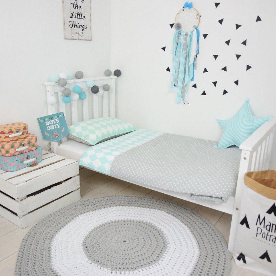 Mint IceCream Baby Crib Bedding Set